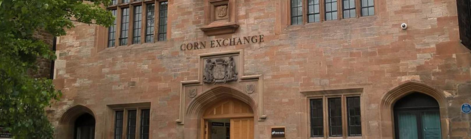 We are based at the Corn Exchange, Dalkeith